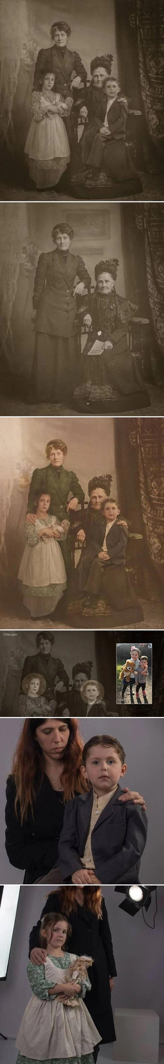 Ova stara obiteljska fotografija krije tajnu koju vjerojatno nikad ne biste primijetili