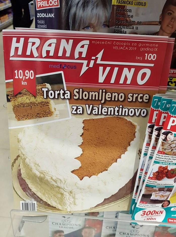Približava se Valentinovo, a ovaj časopis nudi savršeno rješenje za nove koji nisu zaljubljeni