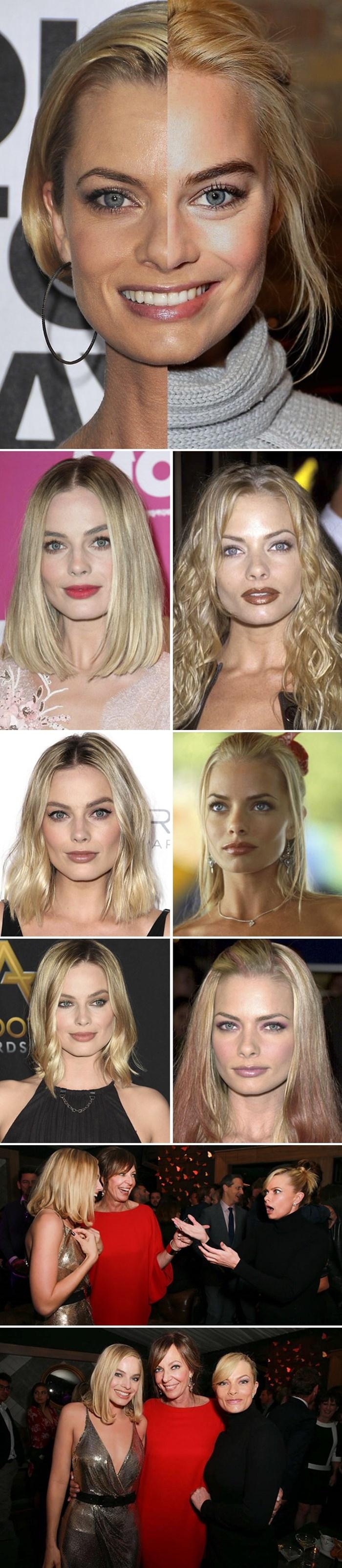 Ljudi su uvjereni da su ove dvije glumice ista osoba, njihove slike pokazuju njihove nevjerojatne sličnosti