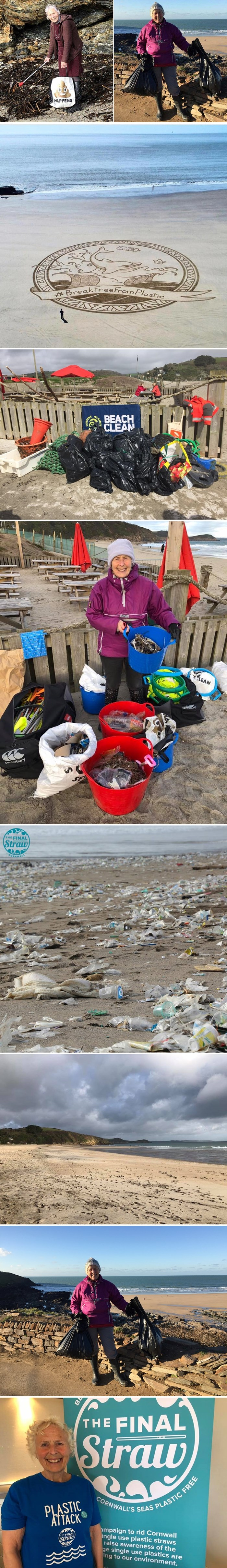 70-godišnja baka je u godinu dana očistila 52 plaže i dokazala da je uz malo truda prirodu moguće spasiti