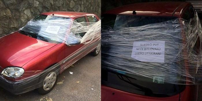 Vozač krivo parkirao, dočekao ga prečudan prizor i uznemirujuće upozorenje