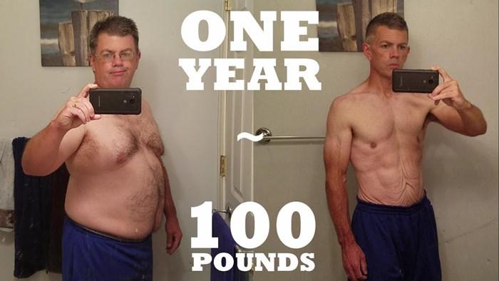 Muškarac je godinu dana svakodnevno vježbao i snimao svoj napredak, nevjerojatno je kako sad izgleda