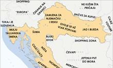 Razočarani Slavonac napravio je svoju kartu Hrvatske, nasmijat će vas opis naših i okolnih regija