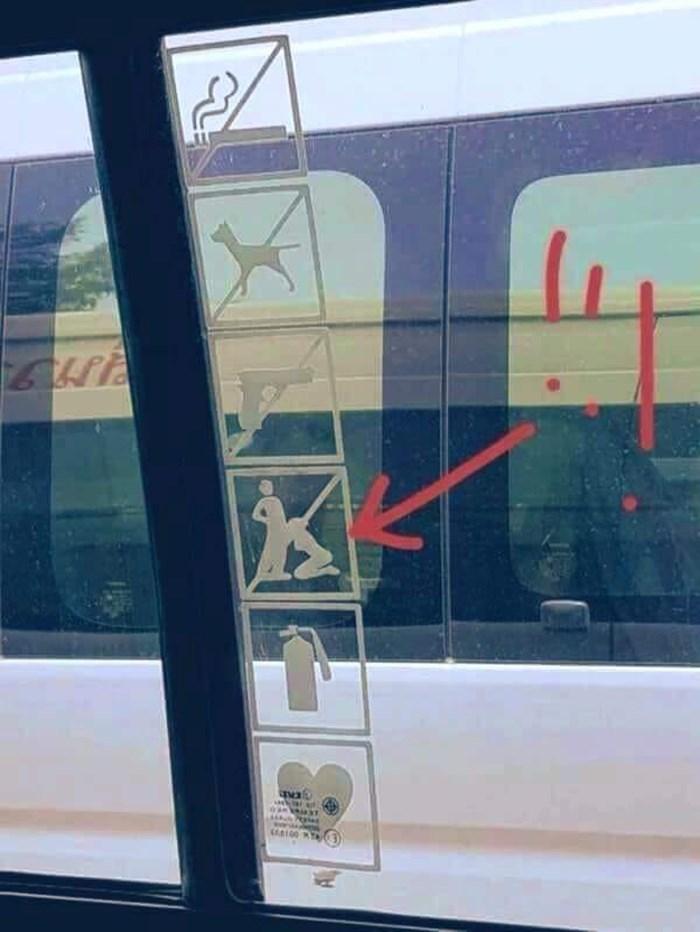 U današnje vrijeme se ništa više ne podrazumijeva, evo što su putnici vidjeli na ulazu u javni prijevoz