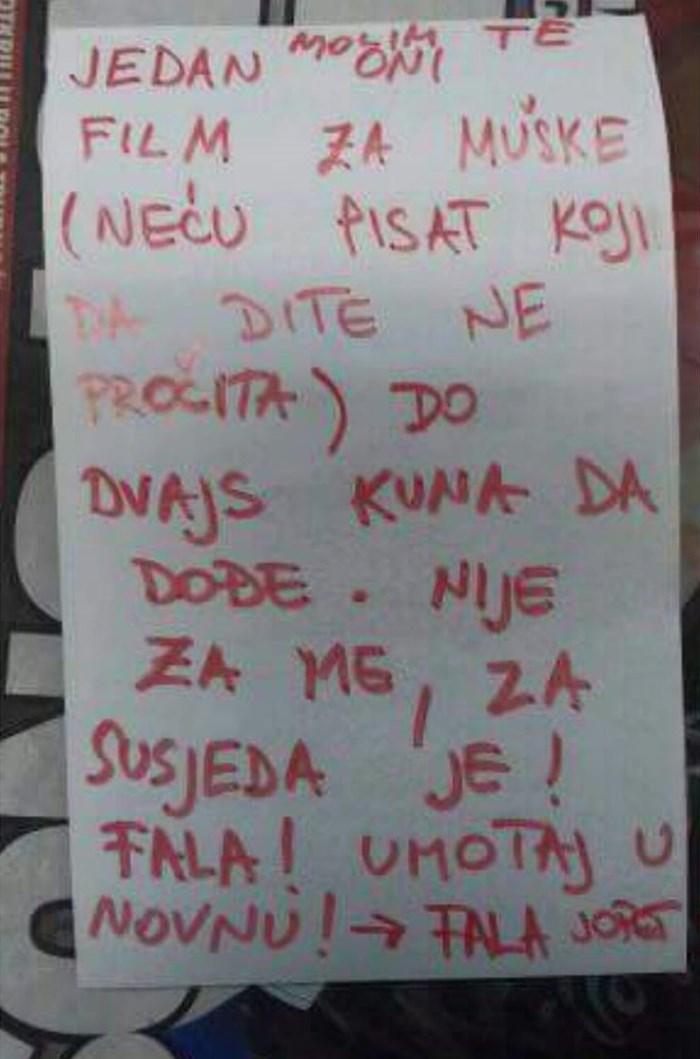Tata je poslao dijete do kioska, na papir je napisao zamolbu koju dijete nije smjelo skužiti