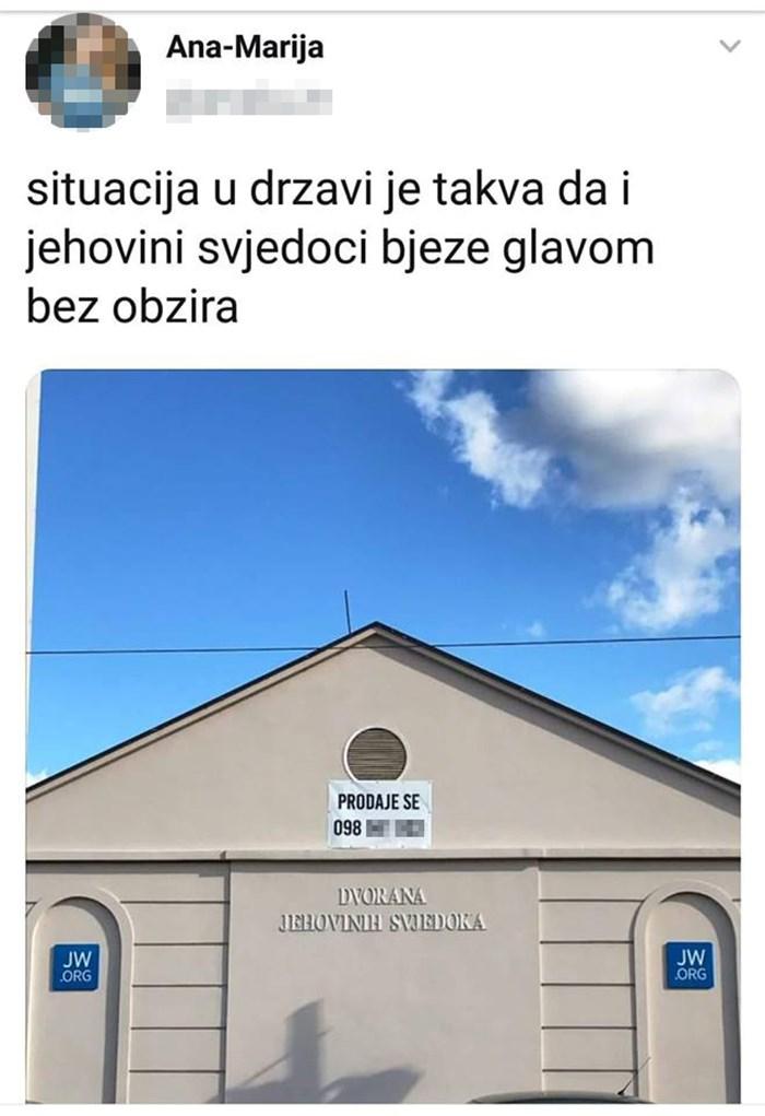"""Prizor iz Zagreba nasmijao društvene mreže: """"Ovo je znak da u državi nešto ne štima!"""""""