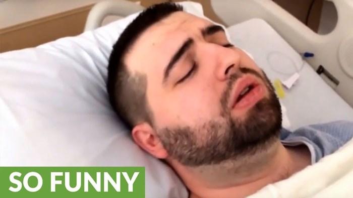 VIDEO Lik se nije prestajao upucavati vlastitoj ženi nakon anestezije, zaboravio je da je skinula 35 kg