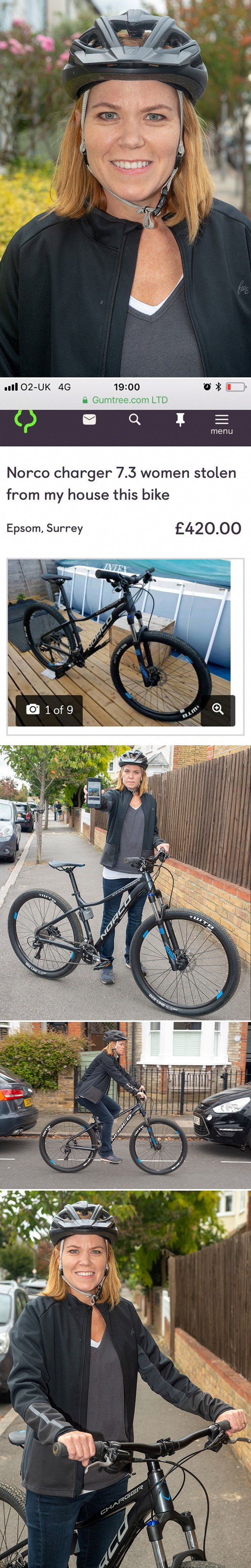Policija joj nije htjela pomoći pa je mama preuzela stvari u svoje ruke i na genijalan način vratila svoj bicikl