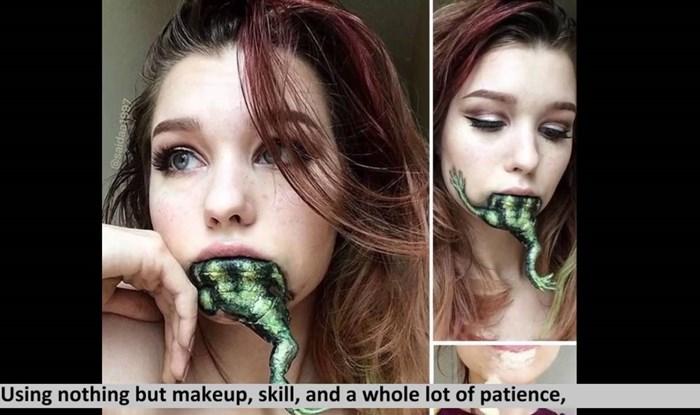 VIDEO Ova djevojka nevjerojatno dobro šminka i može se pretvoriti u sve