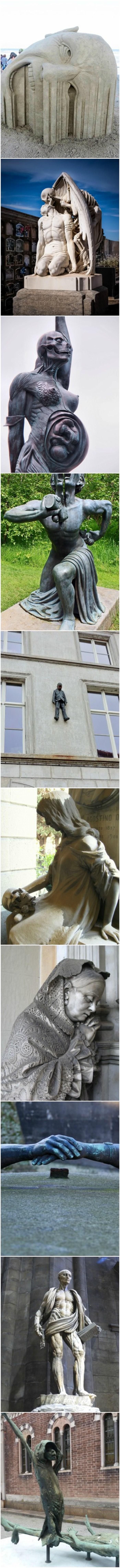 Ove skulpture će vas i uplašiti i oduševiti