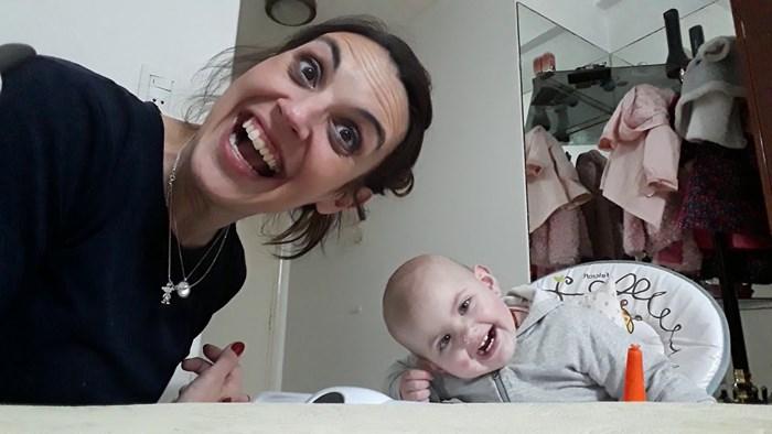 """VIDEO Ova je beba svojim """"govorom"""" osvojila cijeli internet"""