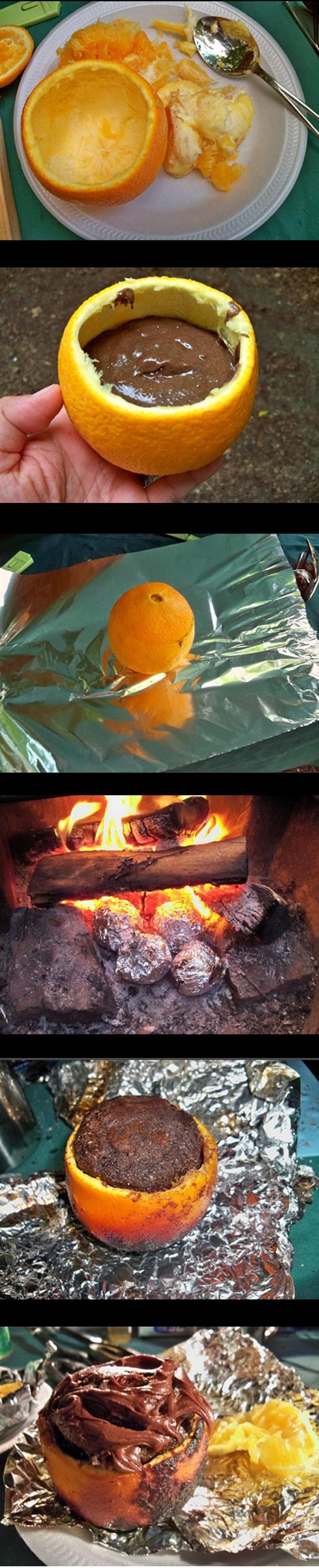Kolač iz kore naranče: Slatka ideja za sve koji vole prirodu, kampiranje i roštilj