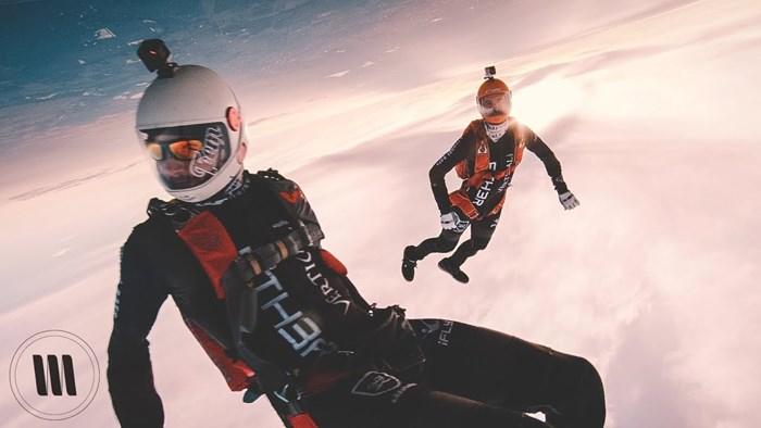 Snimili su skok iz aviona kamerom vrijednom 25 000 dolara, a rezultat je nestvaran