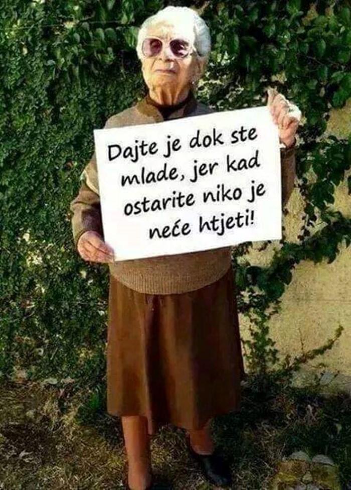 Mudra baka ima savjet dana