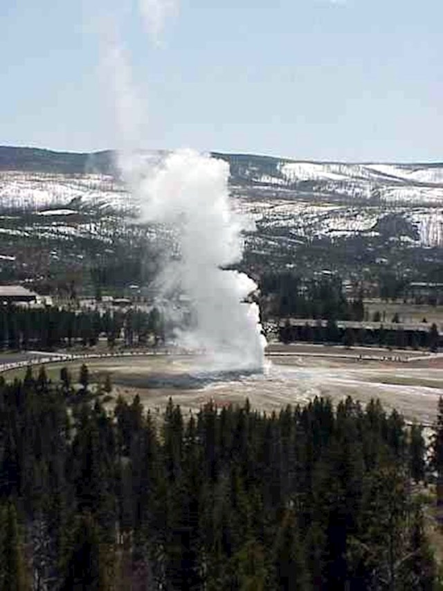 Vjerni starac (Old Faithful), Nacionalni park Yellowstone