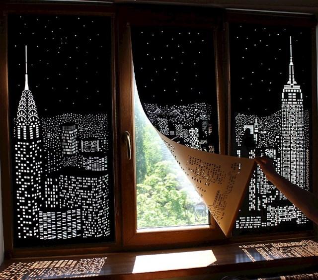 Želite noćni pogled na New York? Ništa lakše, samo nabavite ove zavjese.