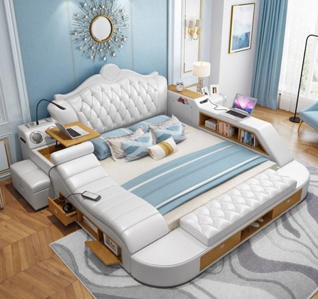 Nikad više nećete htjeti napustiti svoj krevet nakon što isprobate ovaj multi funkcionalni krevet