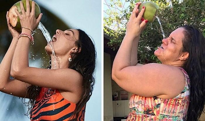 Brazilka odlučila kopirati fotke modela s naslovnica. Rezultati su urnebesni i pokazuju moć alata za uljepšavanje