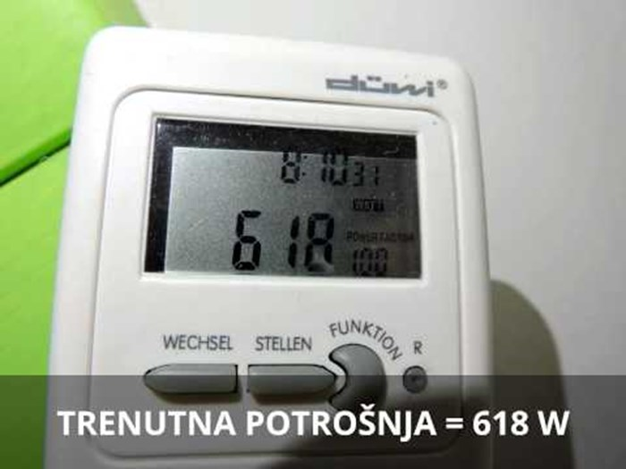 GRIJANJE INVERTER KLIMA UREĐAJEM 5. DIO - ZIMA 11/2015 - CHEAP HEATING