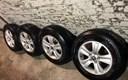 """Alu felge 16"""" 5x115 s novim ljetnim gumama... Chevrolet, Opel..4 kom."""